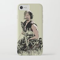daryl iPhone & iPod Cases featuring Daryl Dixon by Huebucket