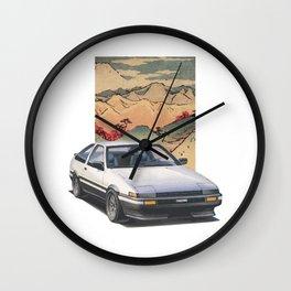 Tōge AE86 Wall Clock
