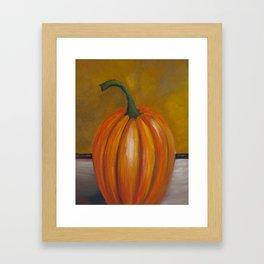 Pumpkin #1 Framed Art Print