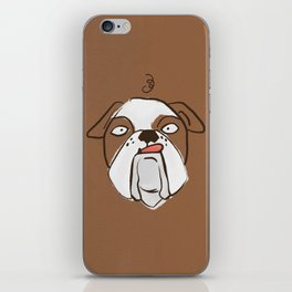 Bono the Bulldog iPhone Skin