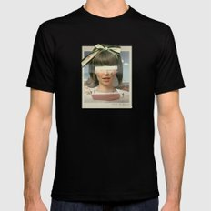 Tears In The Typing Pool   Collage Mens Fitted Tee LARGE Black