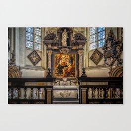 Rubens Grave Canvas Print