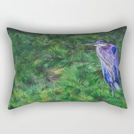 Out in the Rain by Teresa Thompson Rectangular Pillow
