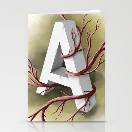 """A"" Stationery Cards"