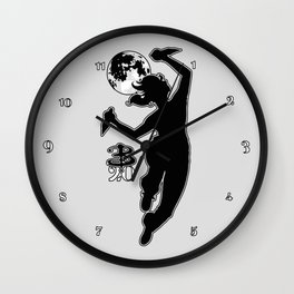 Buffy Slays 20 Wall Clock
