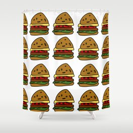 Ham Burger Shower Curtain