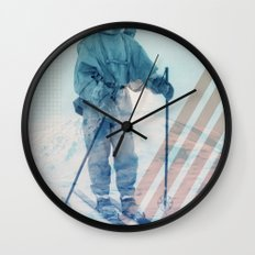 Husky Exploration Wall Clock