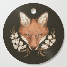 The Fox and Dogwoods Cutting Board