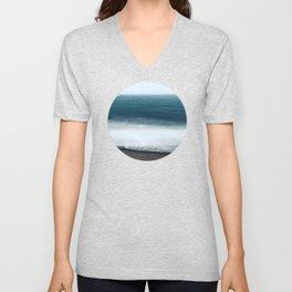 In the Ocean Deep Unisex V-Neck