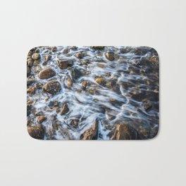 Color Slow Motion Bath Mat