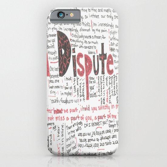 La Dispute Lyrics iPhone & iPod Case