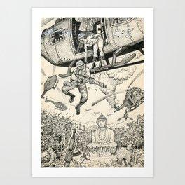 Retreat Art Print