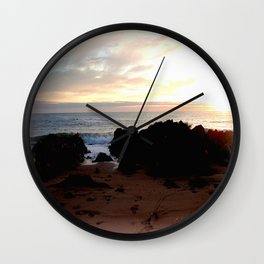 Northern shores of Tasmania Wall Clock