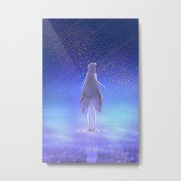 Emilia Re Zero Metal Print