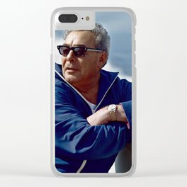 Brezhnev Clear iPhone Case