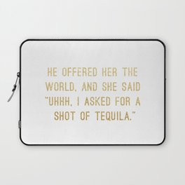 Shot of Tequila Laptop Sleeve