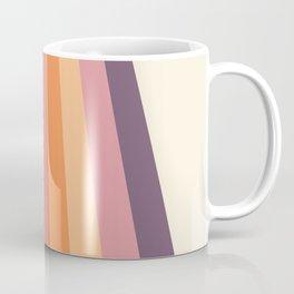 Velvet Morning Retro Stripes Coffee Mug