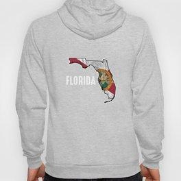 Patriotic Florida Flag Nationalism United States Of America  Hoody