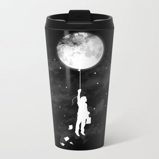 Midnight Traveler Metal Travel Mug