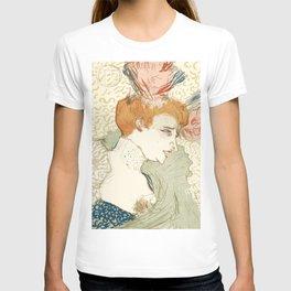 """Henri de Toulouse-Lautrec """"Mademoiselle Marcelle Lender, en Buste"""" T-shirt"""