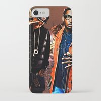 wiz khalifa iPhone & iPod Cases featuring Wiz & Tempah by D77 The DigArtisT