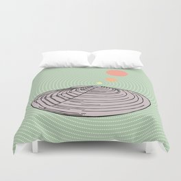 Pop Volcano Duvet Cover
