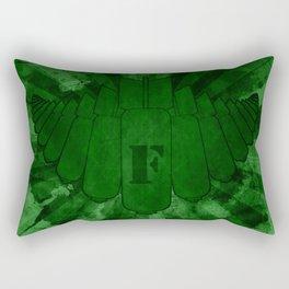 Dropping Bombs on Them Rectangular Pillow
