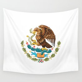 coat of arms of Mexico Wall Tapestry