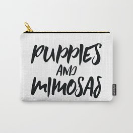 Puppies And Mimosas Carry-All Pouch