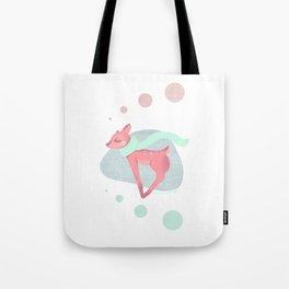 Deer + Scarf Tote Bag