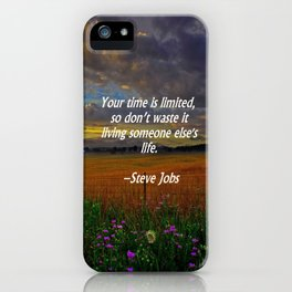 Someone Else's Life iPhone Case