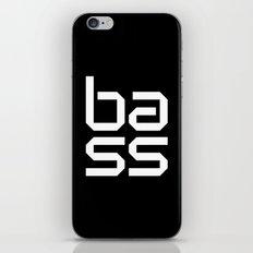 Bass Dance Music Quote iPhone & iPod Skin