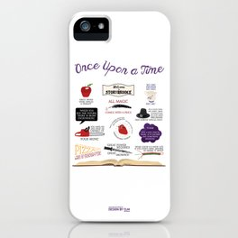 Once Upon a Time Quotes iPhone Case