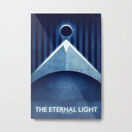 The Moon - The Eternal Light Metal Print