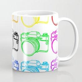 Black on White Camera Coffee Mug