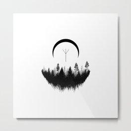 Forest of Elhaz Metal Print