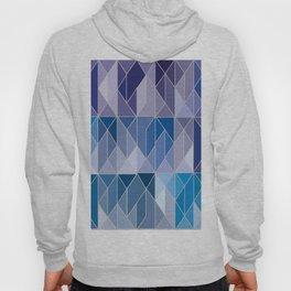 Pattern In Blue Gradient Hoody