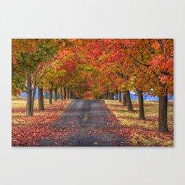 Greenbluff Autumn Canvas Print