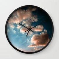 heaven Wall Clocks featuring Heaven by Sofia_Katsikadi