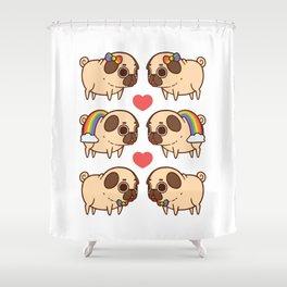 Puglie Pride Shower Curtain