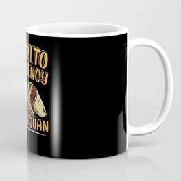 Burrito Emergency Cinco De Mayo Mexican Fiesta Coffee Mug