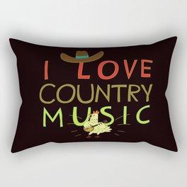 country music Rectangular Pillow