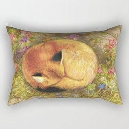 The Cozy Fox Rectangular Pillow