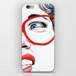 Cara de asco iPhone Skin