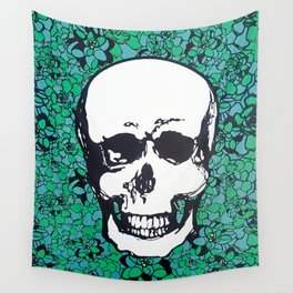 Happy in the End   Grass Wall Tapestry