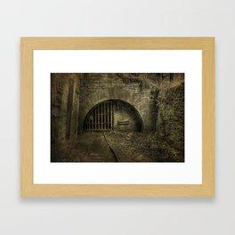 Free Miners Coal Mine Framed Art Print