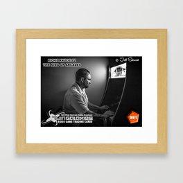 Richie Knucklez - King of Arcades card Framed Art Print