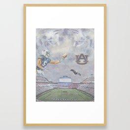 Auburn Tigers University War Eagle Framed Art Print