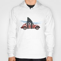 vw Hoodies featuring VW soup by Vin Zzep
