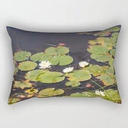 Lillies Rectangular Pillow